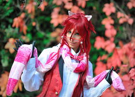 Grell - Ciel in Wonderland ver. by Sandman-AC