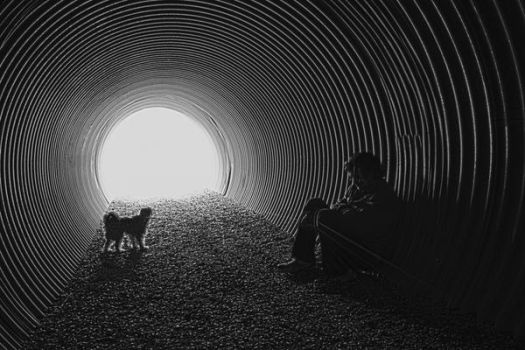 In the Tunnel by Lydia-distracted