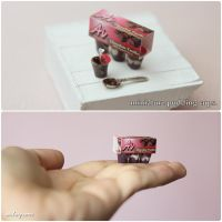 Miniature Pudding Cups. by Aiclay