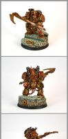Chaos Space Marine Hero Typhus by razzminis
