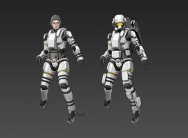 Civilian Space Suit CM81 Male by longgi