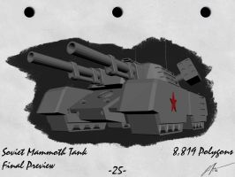 Mammoth Tank by Aircraftkiller
