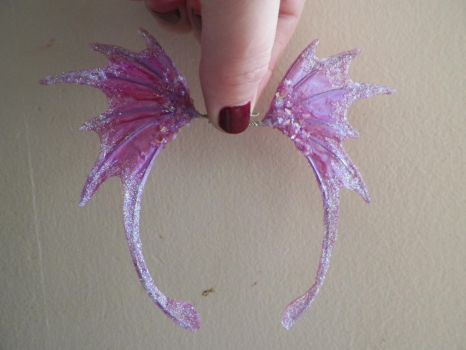 Pink and Purple Fairy Wings by PreciousMiniatures