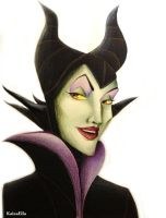 Maleficent by Kaspiian