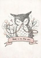 love is in the air - Print by yeevon