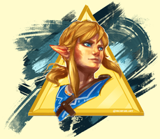 Breath of the Wild Fanart by NicoFari