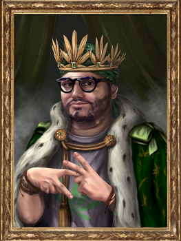 The King of Vape Nation by turqsart