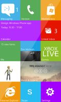 Windows Phone 8 Concept by WP7User