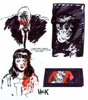 Afterlife with Archie doodles by RobertHack