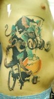 tattoo apocalypse rat by stilbruch-tattoo