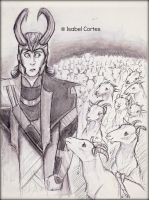 Loki and his army? by Isnabel