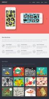 Singolo: Free Flat Single Page Website by PsdChat