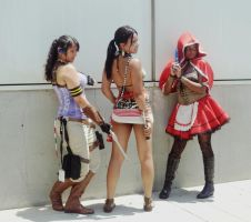 Cosplay: So many Sheva's (RE5) by AngelicCosplay