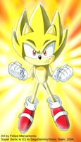 Super Sonic :: Sonic X Style by yuski