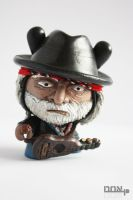 Willie Nelson by PatrickL
