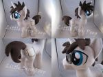 mlp OC Blank Novel plush (commission) by Little-Broy-Peep