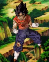 Vegetto oh yeah by Gothax