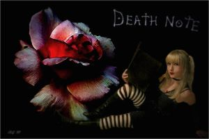 Misa Amane the Rose of Death by broken-with-roses