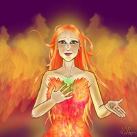 HP-Ginny: Phoenix Animagus by WolfenM