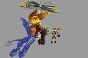 New ID WIP - Ratchet and Clank update 2 by aFluffyGangster