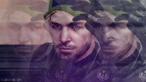 Chris Redfiled with Cap by JhonyHebert