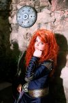 Merida epilogue dress Cosplay. by Thecrystalshoe