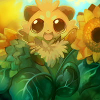 Sunflowers by crayon-chewer