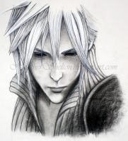 FINAL FANTASY 7: Cloud Strife by HeatherShelton