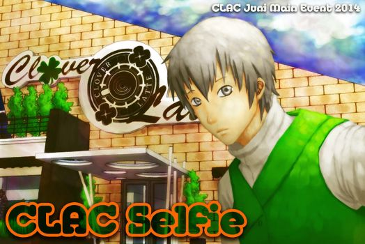 CLAC Selfie - Juni main event poster by Blackv1rus