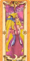 Clow Card Coloured - The Song by RenjiAbaraiGR