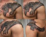 3 Session Monster Hunter 2 TaT by 2Face-Tattoo