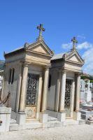 Old twin graves of cemetery of Provence by A1Z2E3R