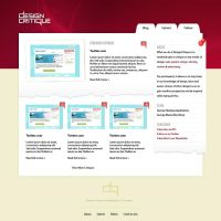 Design Critique - Home Page by SixWinged