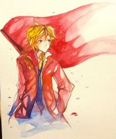 Enjolras - Les Miserables by berinne