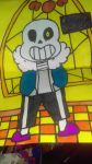 sans attepmt by Sapphirethewerehog