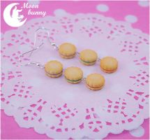Jelly Cookie Earrings By Moonbunny by CuteMoonbunny