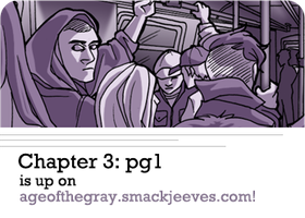 Age of the Gray: Chapter 3- Page 1 by arswiss