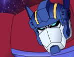 Optimus Prime B.Mode Colored by newtmitchell