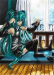 Miku Hatsune A Singer s Rest (VERSION II) by DarkCloudXERO