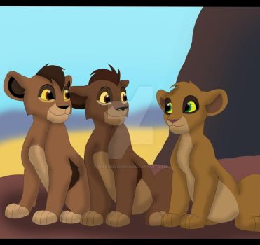 The royal cubs by TheFreeLioness