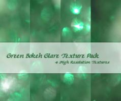 Green Bokeh Glare Texture Pack by powerpuffjazz