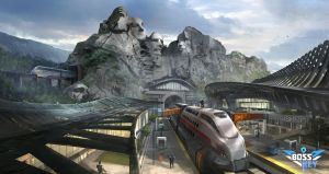 Rushmore Station by Min-Nguen