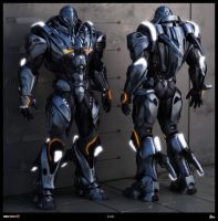 Section 8 armor by Haloidfan