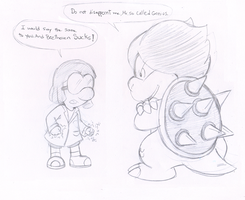 Commish: Brains vs Brains by Nintendrawer