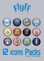 Flyff icon pack by Tchernoben