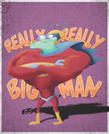 Really Really Big Man by Pervert-pop