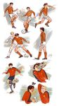 Soccer sketches by eleth89