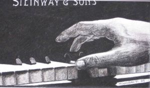 the piano player by mickeyskunst
