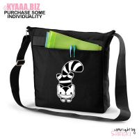 kyaaa.biz - Grinny Cat Sling Messenger Bag by shiricki