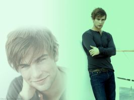 Chace Crawford Wallpaper by olv203ply